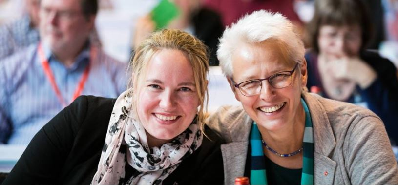 Teilnehmerinnen beim Gewerkschaftstag der GEW in Freiburg. Foto: GEW