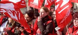 """Tarifstreit: """"Hände weg von unserer Rente"""" – 27.000 bei Protest in Leipzig"""