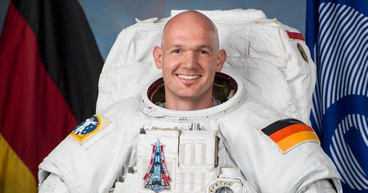 Derzeit im All: der deutsche Astronaut Alexander Gerst. Foto: NASA/Robert Markowitz, Wikimedia Commons