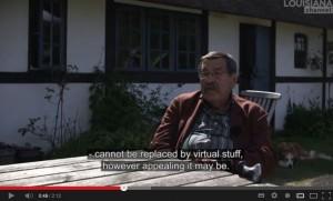 Grass im Interview mit dem Louisiana Channel, Screenshot.