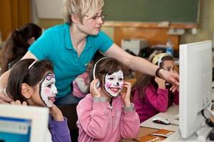 Grundschulunterrichtsszene