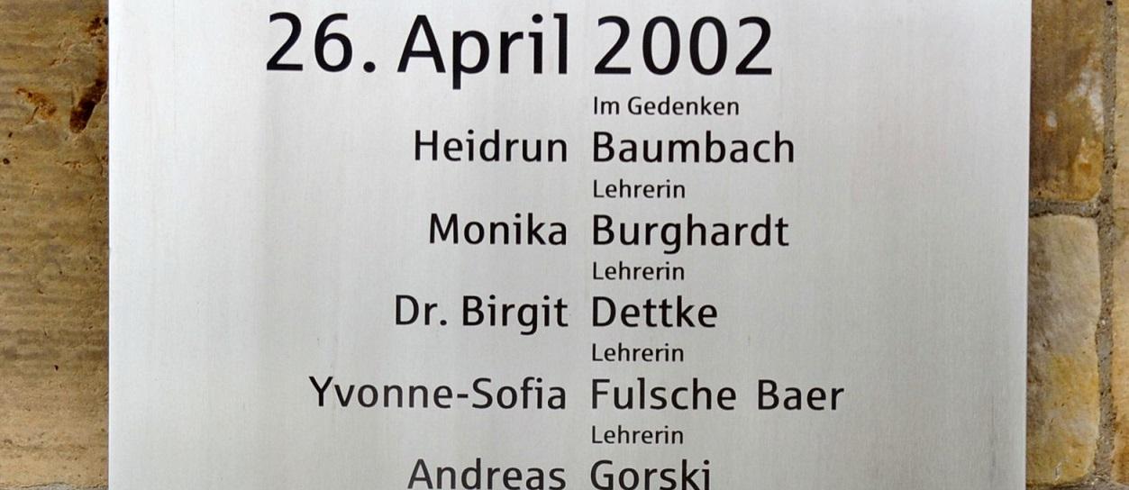 15 Jahre nach dem Schulmassaker von Erfurt: Lehrerverbands-Chef Kraus fordert mehr Aufmerksamkeit für Medienkonsum von Jugendlichen