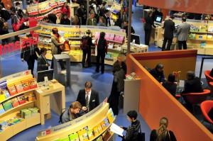 Wie schon bei der didacta 2009 in Hannover präsentieren sich auch in diesem Jahr zahlreiche Schulbuchverlage; Foto: Deutsche Messe Hannover