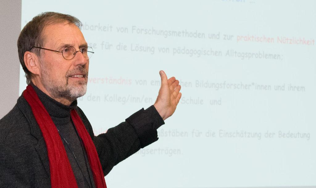 Prof. Dr. Hans Brügelmann. Foto: Universität Siegen
