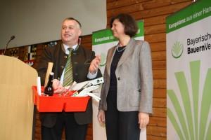 Walter Heidl bei der Landesversammlung des Bayerischen Bauernverbands 2012