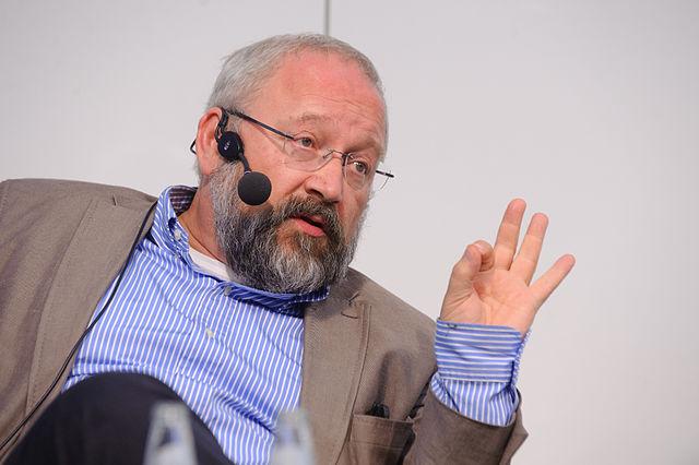Professor Herfried Münkler ist umstritten. (Foto: Heinrich-Böll-Stiftung/Wikimedia CC BY-SA 2.0)