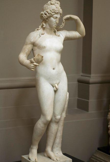Altgriechische Statue eines Hermaphroditen. Foto: Wikimedia Commons / Lady Lever Art Gallery