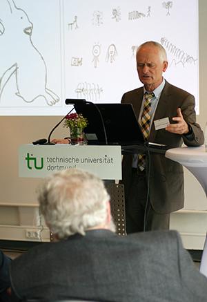Professor Detlev Leutner von Universität Duisburg-Essen beschäftigt sich mit den Effekten selbstregulierten Lernens. Foto: Anna Hückelheim
