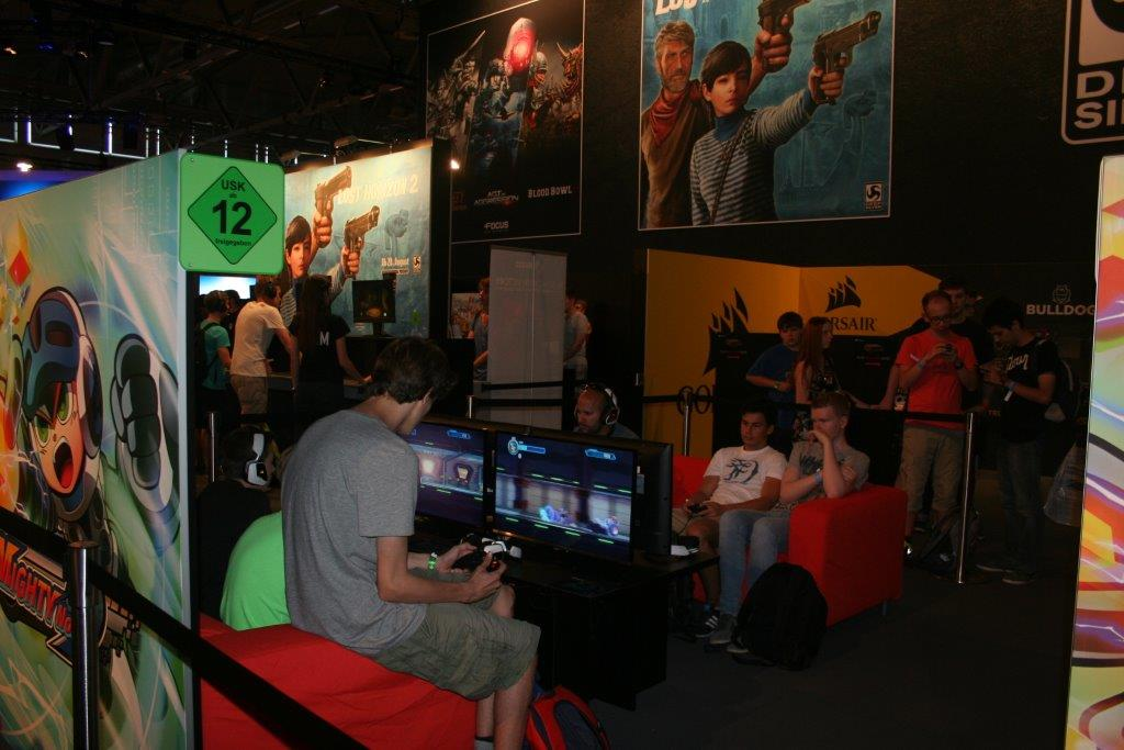 Spieler auf der Gamescom 2015. (Foto: JM)