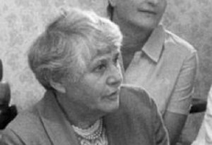 """Hat sich als Professorin für Neugeborenenheilkunde bereits einige Meriten erworben. Ab Dienstag darf sie sich """"Prof. Dr. Dr"""". nennen: Ingeborg Syllm-Rapoport Foto: Bundesarchiv / Wikimedia Commons (CC BY-SA 3.0)"""