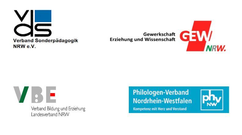 Die an der Mülheimer Erklärung beteiligten Verbände.