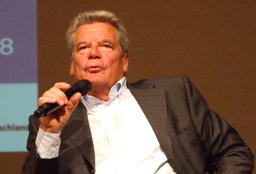 Möchte mehr Debattenbeiträge von Wissenschaftlern hören: Bundespräsident Joachim Gauck. Foto: Tohma / Wikimedia Commons (CC BY-SA 3.0)