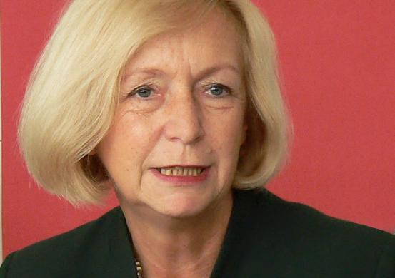 """""""Natürlich bleibt noch etwas zu tun"""": Bundesbildungsministerin Johanna Wanka."""