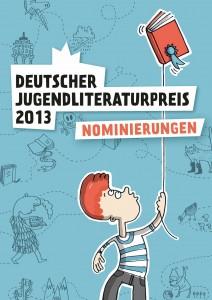Plakat zum deutschen Jugendliteraturpreis