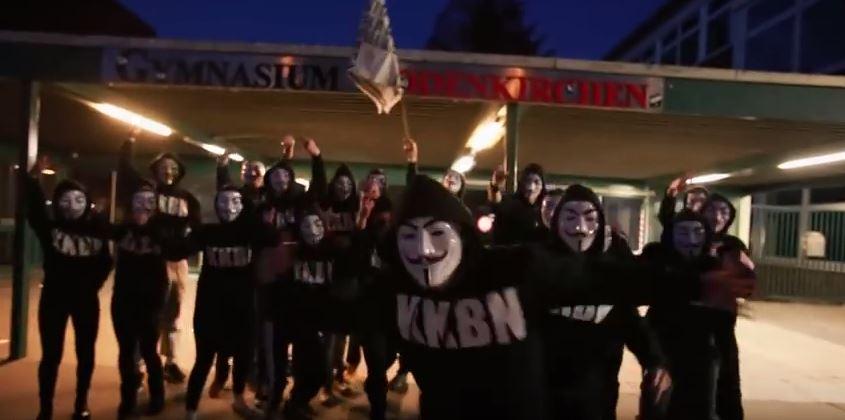Kölner Abiturienten in einem Video zur Mottowoche im vergangenen Jahr. Screenshot