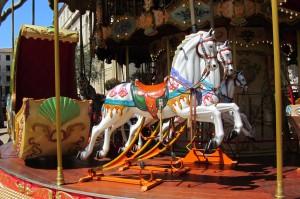 Karusellpferde
