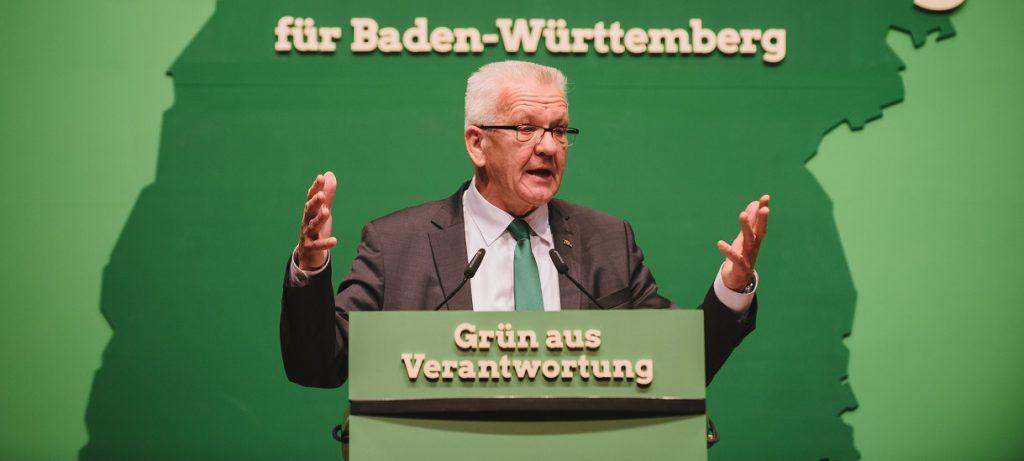 Letzte Hoffnung für den Grundschulverband: Baden-Württembergs Ministerpräsident Kretschmann. Foto: Bündnis 90 / Die Grünen / flickr (CC BY-SA 2.0)