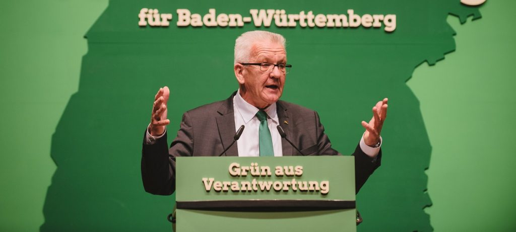 oll ein Machtwort sprechen: Baden-Württembergs Ministerpräsident Kretschmann. Foto: Bündnis 90 / Die Grünen / flickr (CC BY-SA 2.0)