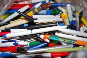 Viele Kugelschreiber