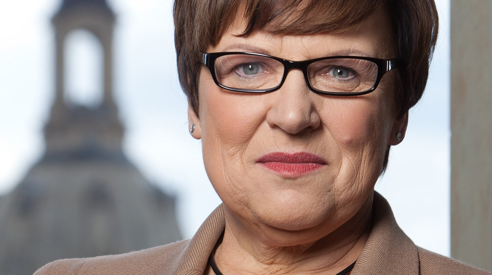 Hat unlängst die Präsidentschaft der KMK übernommen: Brunhild Kurth. Foto: Sächsisches Kultusministerium.