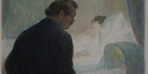 """Illustration von Charles Léandre für das Buch """"Madame Bovary"""". Foto: Wikimedia Commons"""