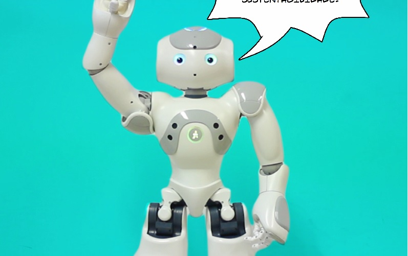 Der Roboter Nao soll emtional Intelligent sein. (Foto: http://www.emote-project.eu)