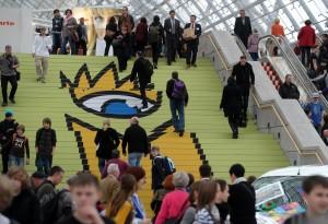 Osteuropa und Bildung sind Schwerpunkte auf der Leipziger Buchmesse 2012 (Foto: Messe Leipzig)