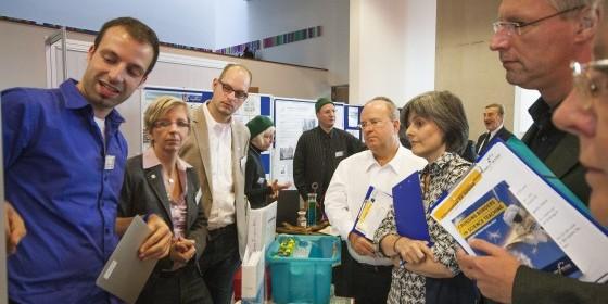 Bei einem Treffen im vergangenen September in Berlin wurde die Lehrer ausgewählt, die Deutschland nun vertreten. Foto: Science on Stage Deutschland