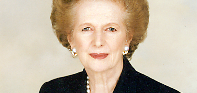 Ihre Ideen in der Schulpolitik haben Einfluss bis heute - auch in Deutschland: die frühere britische Premierministerin Margaret Thatcher. Foto: Chris Collins of the Margaret Thatcher Foundation / Wikimedia Commons