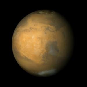 Der Planet Mars auf einer Aufnahme der NASA von 2004. (Foto: Urbanus PD-USGOV/Wikimedia)