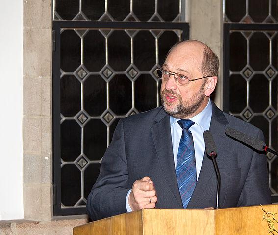 Martin Schulz findet, dass Deutschland nur in einem geeinten Europa zukünftig weltpolitische Bedeutung haben wird. (Foto: Raimond Spekking / Wikimedia CC-BY-SA-3.0)