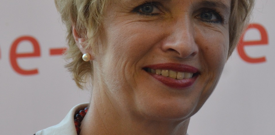 Kein Standing beim Chef: Martina Münch, bislang Bildungsministerin in Brandenburg. Foto: Nicola / Wikimedia Commons (CC BY-SA 4.0)