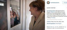 Merkel in türkischer Flüchtlingsschule: Was sich die Direktorin wünschen würde, hätte sie einen Wunsch bei der Kanzlerin frei