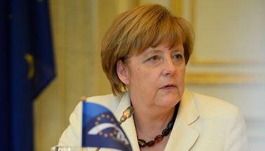 Kommt nach Haltern: Angela Merkel. Foto: DERIBAUCOURT.COM / Wikimedia Commons (CC BY 2.0)