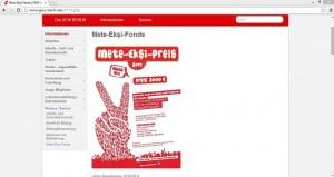 Insgesamt können Kinder und Jugendliche, die sich für ein gleichberechtigtes Zusammenleben der Menschen in Berlin einsetzen, Preisgelder in Höhe von 3000 Euro. Screenshot von http://www.gew-berlin.de/4715.php