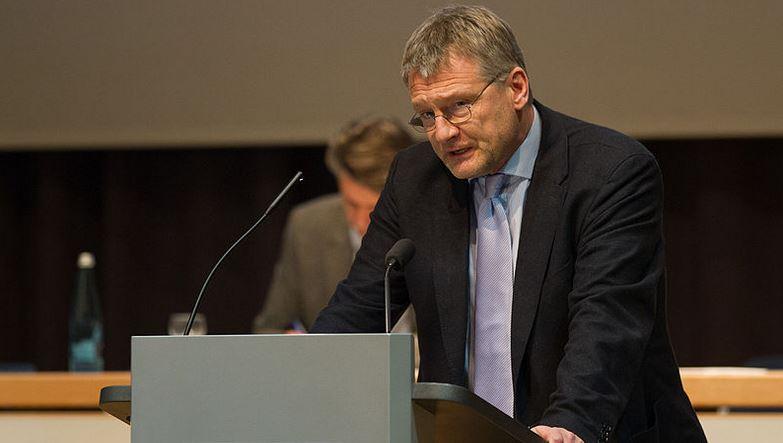 Offenbar auf der Suche nach Wahlkampfthemen: AfD-Chef Jörg Meuthen. Foto: Robin Krahl / Wikimedia Commons (CC BY-SA 4.0)