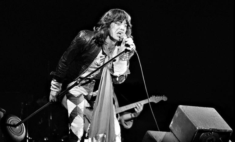 Forschungsobjekt: Mick Jagger, Sänger der Rolling Stones (hier auf einem Foto von 1976). Foto: Bert Verhoeff (ANEFO) / Wikimedia Commons (CC BY-SA 3.0)