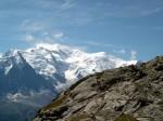 Der Mont Balnc ist der höchste Berg in der vom Klimawandel bedrohten Alpenlandschaft. (Foto: Tinelott Wittermanns/Wikimedia CC BY-SA 3.0)