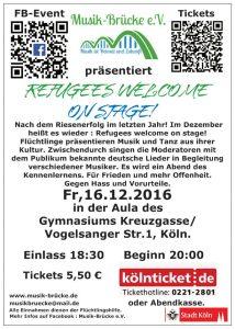 Am kommendenFreitag findet der Musikabend statt. Bild: Musikbrücke e.V.