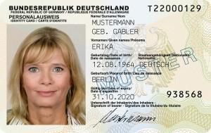 """""""In Personaldokumenten international unüblich"""": Die Grünen ziehen gegen den Doktortitel im Personalausweis zu Felde. Foto: Bundesministerium des Inneren"""
