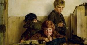Nachsitzen: Schon immer unbeliebt bei Schülern (Gemälde von Erskine Nicol, um 1870). Foto: Bonhams / Wikimedia Commons