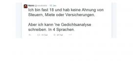 Nerv getroffen: Schülerin löst mit Tweet Bildungsdebatte in Deutschland aus