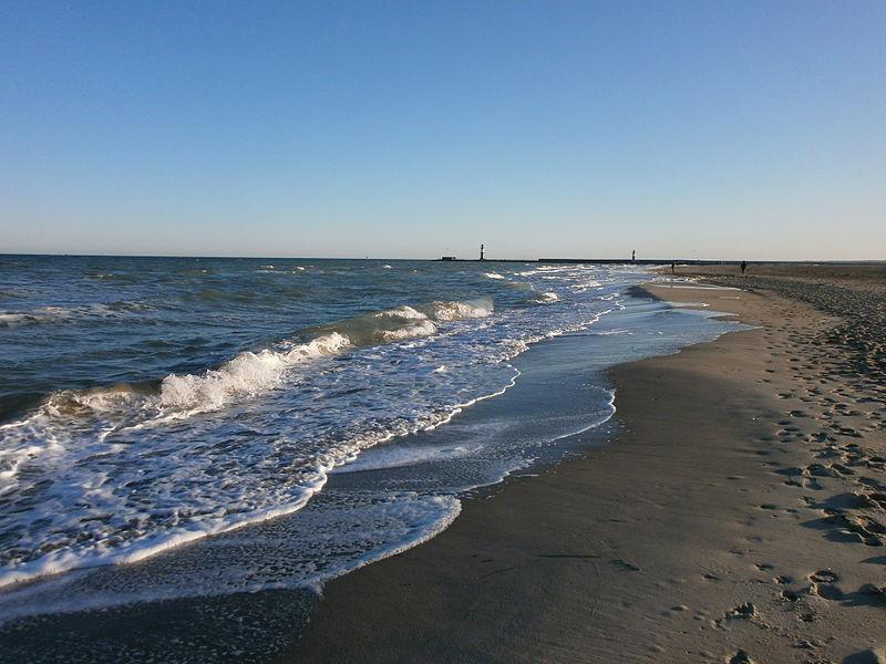 Die Ostsee am Strand von Warnemünde. Foto: Holger Plickert / Wikimedia Commons (CC BY-SA 3.0)