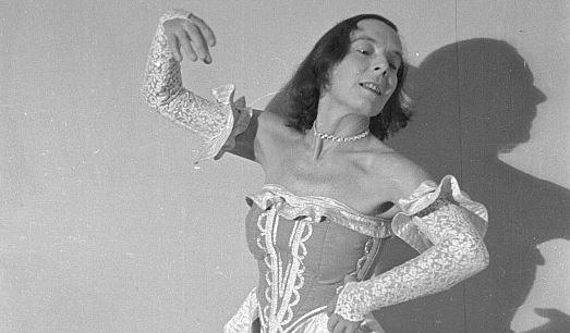 Die Namenspatronin der Hochschule, die Tänzerin und Tanzpädagogin Gret Palucca (1902 - 1993). Foto: Wikimedia Commons