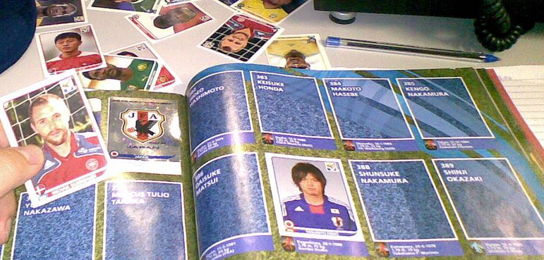 Im Tauschrausch: Das Sammeln von Panini-Fußball-Bildern beschäftigt kurz vor der EM Hunderttausende von Kindern in Deutschland (Archivbild). Foto: Silveira Neto / flickr (CC BY-SA 2.0)