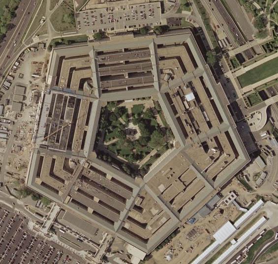Das Pentagon, das US-Verteidigungsministerium in Washington, gibt Geld für Forschung aus - auch in Deutschland. Foto: Wikimedia Commons