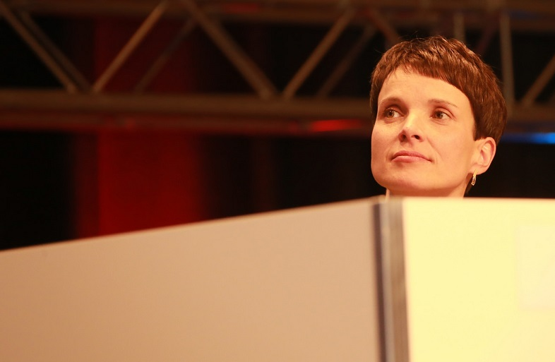 """Intelligent, nicht klug"": AfD-Chefin Frauke Petry. Foto: Metropolico.org / flickr (CC BY-SA 2.0)"