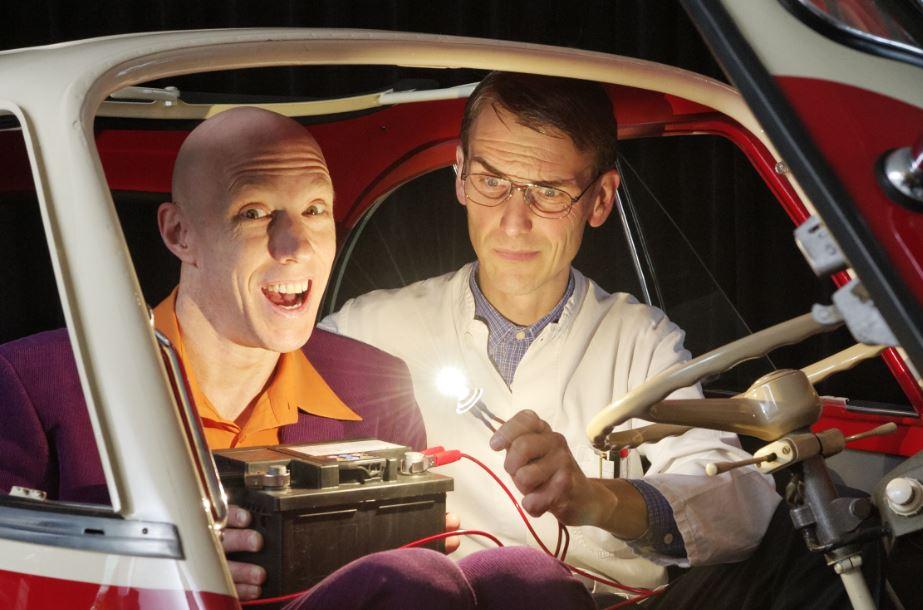 Vermitteln Naturwissenschaften unterhaltsam: die Physikanten. Foto: die Physikanten.