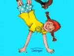 Pippi Langstrumpf hat einen schlechten Einfluss auf Kinder findet die Theologin Wollrad (Bild: Oetinger-Verlag)