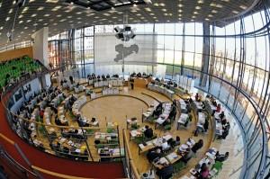 """Plenarsitzung im sächsischen Landtag; Foto: """"Sächsischer Landtag/Steffen Giersch""""."""